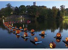 Central Park's Halloween Parade & Pumpkin Flotilla Go
