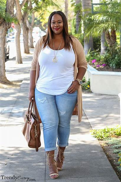 Curvy Trendy Plus Outfits Clothes Simply Neutral