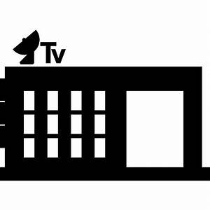 TV Station - Free buildings icons