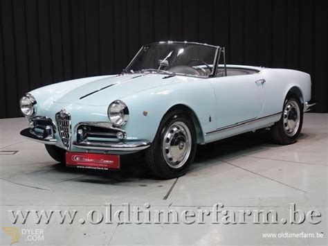 Alfa Romeo Giulietta For Sale by Classic 1961 Alfa Romeo Giulietta Spider 1300 For Sale Dyler