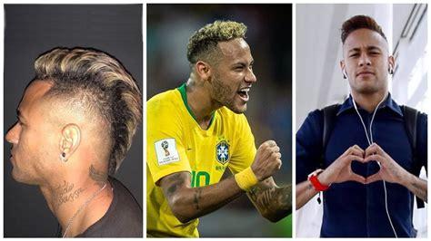 neymar jr haircuts fifa world cup  ep youtube