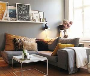 deco salon avec canape gris meilleures images d With couleur tendance peinture salon 13 inspirations deco en vert fonce joli place