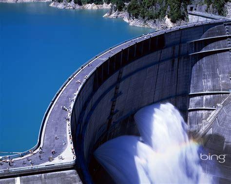 Spectacular Dam September 2013 Bing Wallpaper Preview