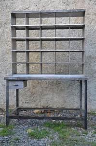Mobilier Industriel Ancien : ancien meuble de tri postal mobilier industriel mobilier puces priv es ~ Teatrodelosmanantiales.com Idées de Décoration