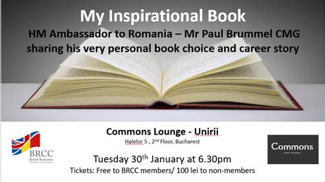 inspirational book british ambassador paul brummel brcc