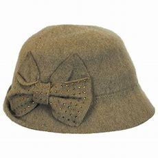 Betmar Betty Wool Cloche Hat Cloche & Flapper Hats