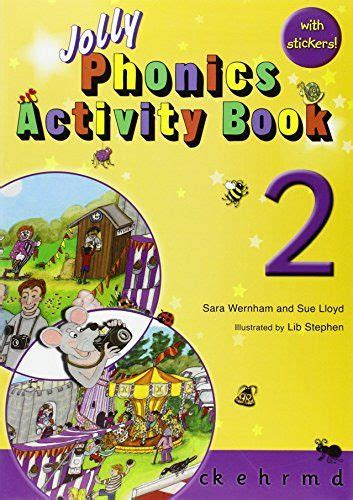 jolly phonics activity book  ck      sara wernham