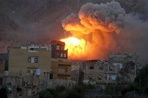 Yemen Civil War Un Accuses Saudiled Coalition Forces Of Using Cluster Bombs