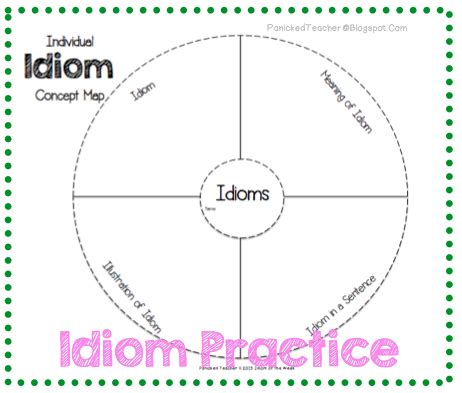 template literals teaching idioms 5 tips for teaching idioms panicked s