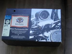 Harley Road King Tach Kit