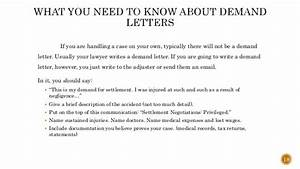 how to settle your personal injury claim without a lawyer With personal injury demand letter response time