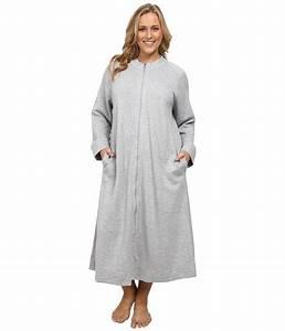 carole hochman plus size zip robe zapposcom free With robe carole