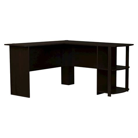 Ameriwood L Shaped Desk by Corner Desk Ameriwood L Shaped Desk Brown Cherry