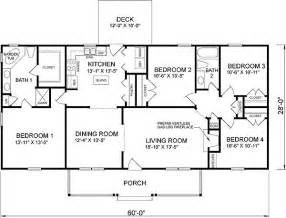 four bedroom house plan 46036hc country cottage home plan house plans 4 bedroom house and house