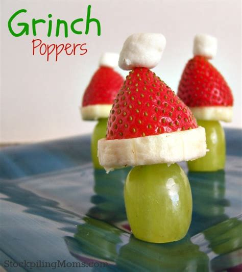 healthy christmas snacks for you and for the kids gym bunny
