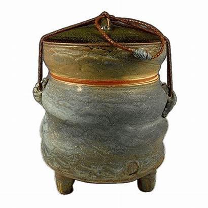 Rustic Desert Urn Fired Soda Urns Enlarge