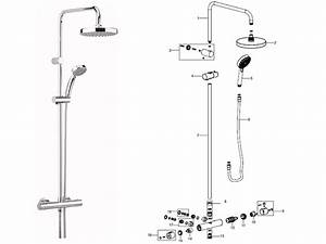 Bristan Carre Bar Mixer Shower With Diverter Shower Spares