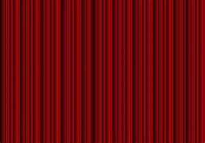 Red curtains for Red show curtains