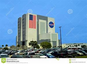 NASA Vehicle Assembly Building At Kennedy Space Center ...