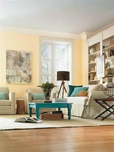 on met l39accent sur la couleur de peinture pour salon With peinture claire pour salon