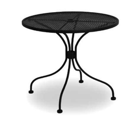 metal mesh top patio table waymar mt2930dm patio outdoor table 30 in diameter metal