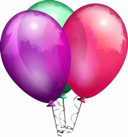 Balloon Background Transparent Clipart Balloons Birthday Clip