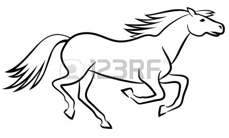 Running Horse Template Gallery - Template Design Ideas