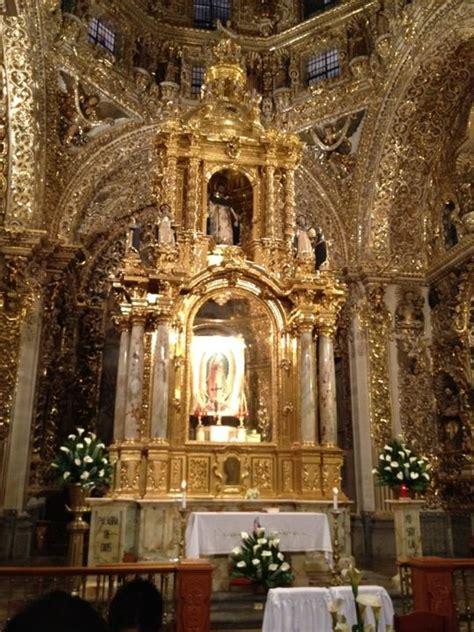 El mas puro arte barroco en oro, Puebla, Mexico. | Barroco ...