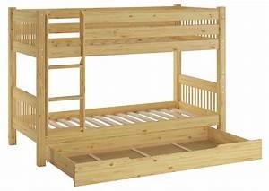 Erst Holz : kinderetagenbett massivholz kiefer 90x200 doppelstockbett ~ A.2002-acura-tl-radio.info Haus und Dekorationen