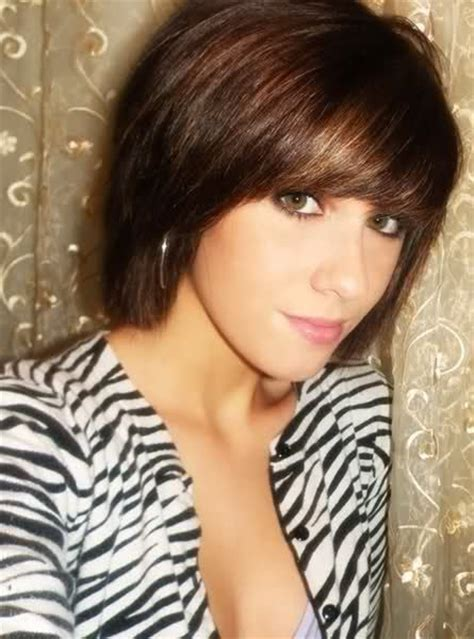 ultra chic short hairstyles with bangs pretty designs