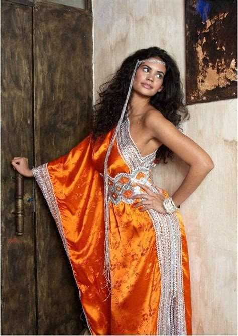la robe kabyle moderne things i orange and robes