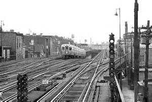 Chicago CTA Elevated Train