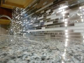 mosaic tile kitchen backsplash white and metal marme random mosaic backsplash glass tile today