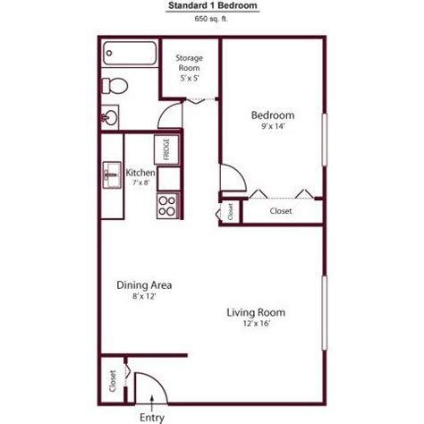 650 Sq Ft Floor Plans  Google Search  Dad's House