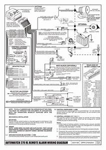 Autowatch 279 Rl Remote Alarm Wiring Diagram
