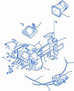 Chevrolet Tracker 2002 Steering Column Electrical Circuit Wiring Diagram
