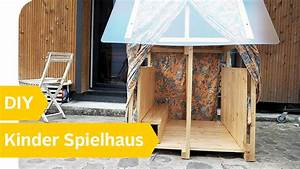Spielhaus Selber Bauen : diy spielhaus f r kinder holzhaus ganz einfach selber bauen roombeez powered by otto youtube ~ Orissabook.com Haus und Dekorationen