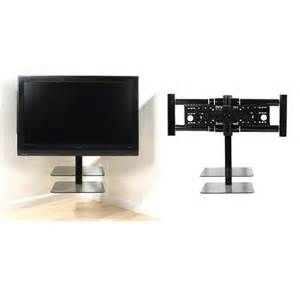 Wall Mount Corner TV Stand with Shelf