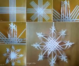 wonderful diy colorful woven snowflake