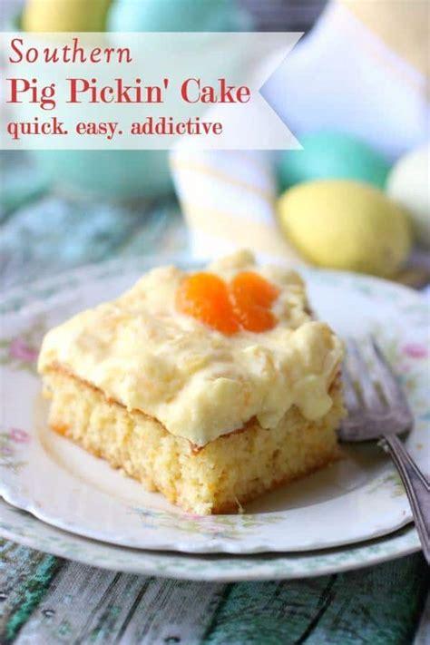 pig pickin cake recipe  vintage southern favorite