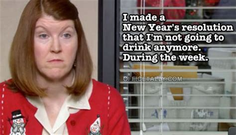 Office Years by Meredith S New Year S Resolution Officetally
