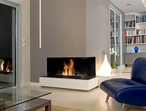 Cheminée Bois Design : chemin e bois contemporaine foyer ouvert metalfire vente ~ Premium-room.com Idées de Décoration