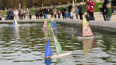 Sailboats Jardin Du Luxembourg by Inspired By Sailboats The Fiery