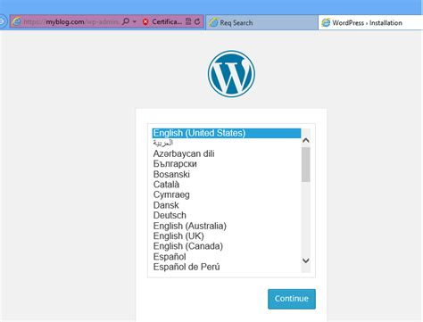 How To Install Wordpress With Self-signed Ssl And Apache2