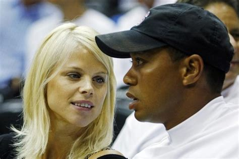 tiger woods   wife elin nordegren reunite