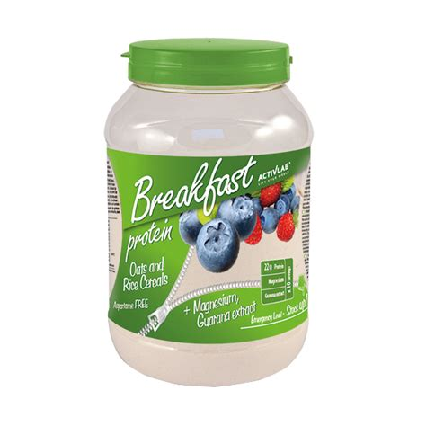 Breakfast Protein (1000g) - FitFactory