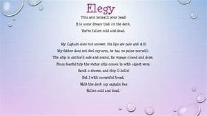 ELEGY Quotes Like Success