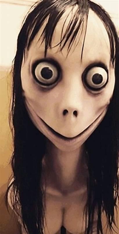 Momo Creepy Challenge Character Suicide Internet Children