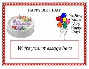 40th birthday ideas free editable birthday invitation cards templates for Editable birthday cards