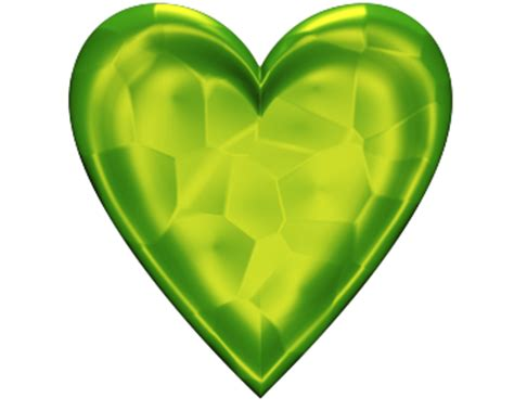 green valentine heart transparent background valentine
